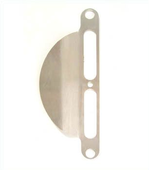 Back Plate / Pull 115mm Stainless steel