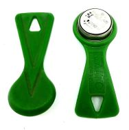 SALTO Ibutton Read Write Construction Fob Green