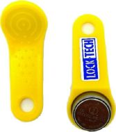Lock-tech Ibutton Read Write Fob 4kb Yellow