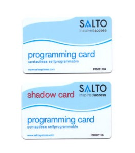 SALTO Self Prog Prox Programing Card & Shadow