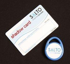 SALTO Self Programming Proximity User Fob & Shadow Card